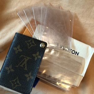 Authentic Louis Vuitton Small Card Holder!